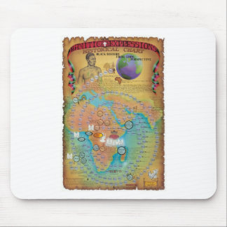 Biblical Genealogy Charts Mouse Pad