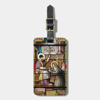 Biblical hip-hop luggage tags