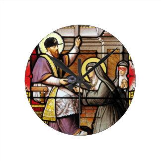 Biblical hip-hop round clock