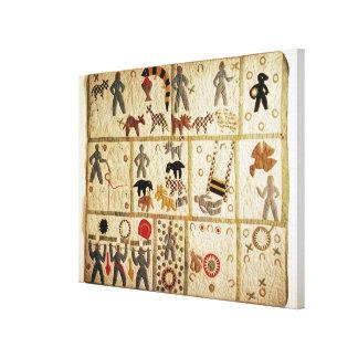 Biblical quilt, Virginia Stretched Canvas Prints