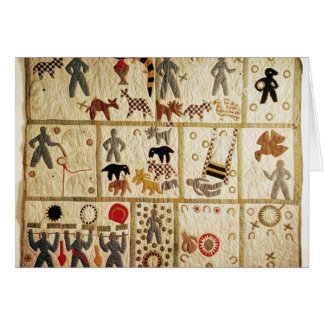 Biblical quilt, Virginia Card