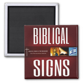 Biblical Signs 2018 Logo Magnet