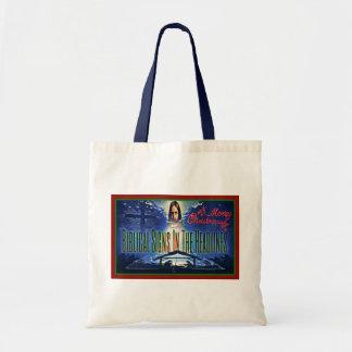"Biblical Signs ""Christmas"" Tote Bag"