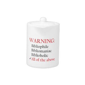 Biblio Warning Notice