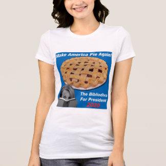 Bibliodiva For President t-shirt