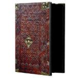 Bibliófilo de cuero antiguo del libro