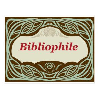 Bibliófilo Tarjetas Postales
