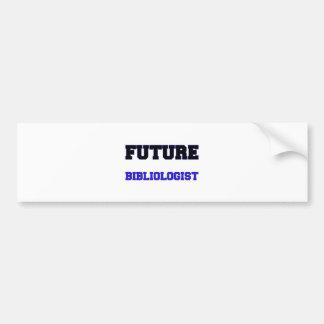 Bibliologist futuro etiqueta de parachoque