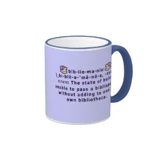 Bibliomania Mug