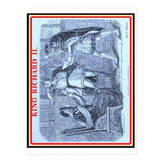Bibliomania: Shakespeare - King Richard II Postcard