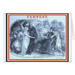 Bibliomania: Shakespeare la tempestad Felicitación