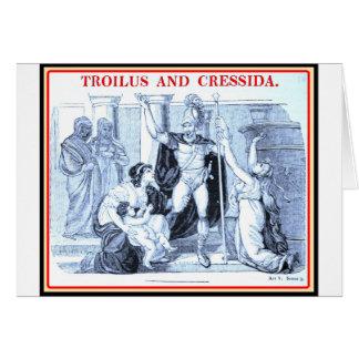 Bibliomania: Shakespeare - Troilus y Cressida Tarjeta De Felicitación