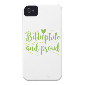 bibliophile and proud iPhone 4 case