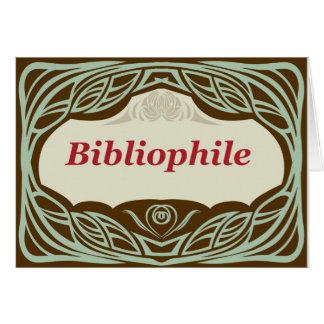 Bibliophile Card