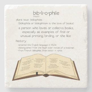 Bibliophile Stone Coaster