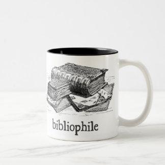 Bibliophile Two-Tone Coffee Mug
