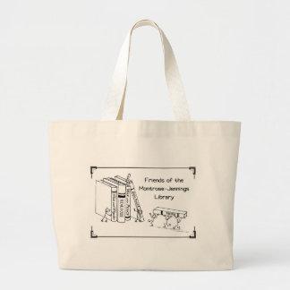 Bibliophiles UNITE! Large Tote Bag