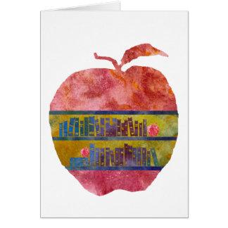 Biblioteca Apple Tarjeta De Felicitación