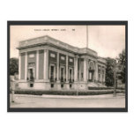 Biblioteca, Beverly, vintage del mA Tarjeta Postal