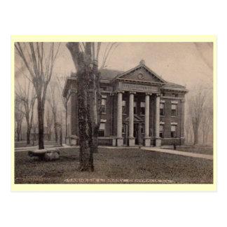 Biblioteca, Centralia, vintage 1910 de Illinois Tarjetas Postales