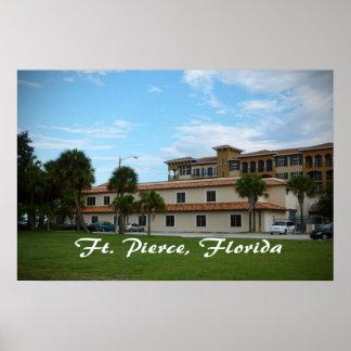 biblioteca céntrica de Fort Pierce la Florida Impresiones