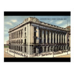 Biblioteca, Cleveland, Ohio c1934 Postales