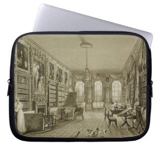 Biblioteca como salón, parque de Cassiobury, c.181 Mangas Computadora