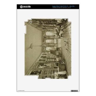 Biblioteca como salón, parque de Cassiobury, c.181 Pegatinas Skins Para iPad 3