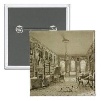 Biblioteca como salón, parque de Cassiobury, c.181 Pin
