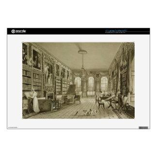 Biblioteca como salón, parque de Cassiobury, c.181 Portátil Calcomanía