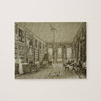 Biblioteca como salón, parque de Cassiobury, c.181 Rompecabeza Con Fotos