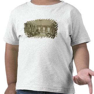 Biblioteca como salón, parque de Cassiobury, Camiseta