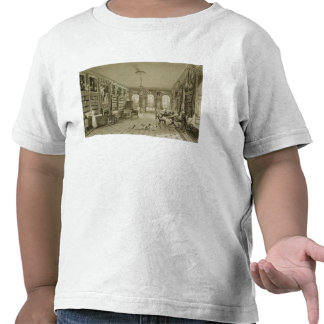 Biblioteca como salón, parque de Cassiobury, Camisetas