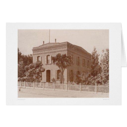 Biblioteca de Bancroft en la calle 1538 de Tarjeta De Felicitación