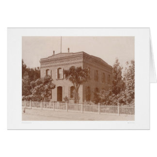 Biblioteca de Bancroft en la calle 1538 de Valenci Tarjeton