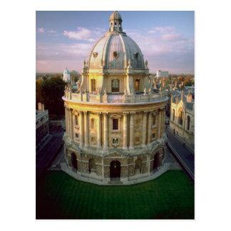 Biblioteca de Bodleian, Oxford, Reino Unido Tarjeta Postal
