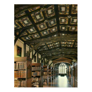 Biblioteca de Bodlein, Universidad de Oxford, Ingl Tarjeta Postal
