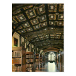 Biblioteca de Bodlein, Universidad de Oxford, Tarjeta Postal