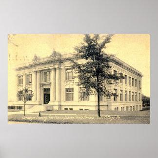 Biblioteca de Carnegie, universidad de estado, Pen Poster