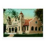 Biblioteca de Carnegie, vintage de CA de la orilla Postales