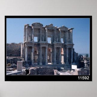 Biblioteca de Celsus, construida en el ANUNCIO 135 Impresiones
