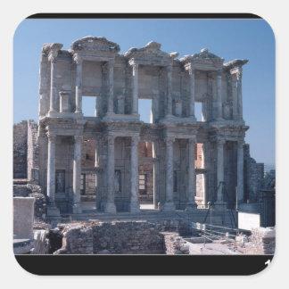 Biblioteca de Celsus, construida en el ANUNCIO 135 Colcomanias Cuadradases
