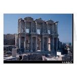Biblioteca de Celsus, construida en el ANUNCIO 135 Tarjeta De Felicitación