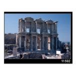 Biblioteca de Celsus, construida en el ANUNCIO 135 Tarjeta Postal