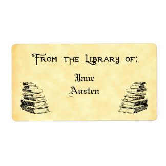 Biblioteca de encargo de las etiquetas del arte etiquetas de envío