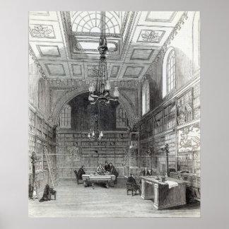 Biblioteca de la Cámara de los lores Poster