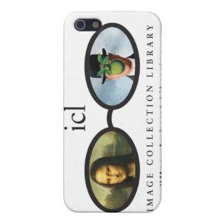 Biblioteca de la colección de la imagen iPhone 5 funda
