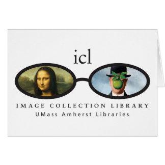 Biblioteca de la colección de la imagen tarjeta de felicitación