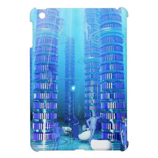 Biblioteca de la fantasía iPad mini carcasas