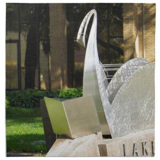 Biblioteca de Lakeland Servilletas Imprimidas